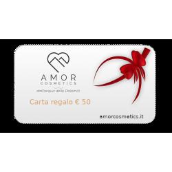 Carta regalo (€. 50)